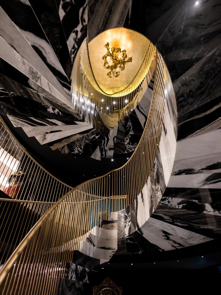 London Elliptical Staircase